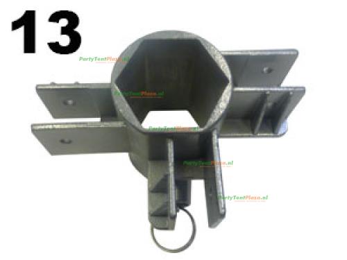 Schuifkoppeling midden Platinum (nr 13)