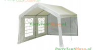 partytent 5x3 inclusief grondframe