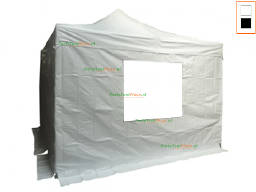 4 x 4 Easy Up Diamond PVC met zijwanden (brandvertragend certificaat)