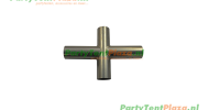 koppelstuk kruis - recht tbv partytent PVC Business