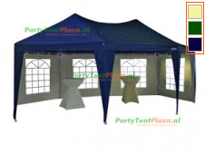 pagode 5 x 6,8 m met grondframe incl. gratis 2x partytentheater