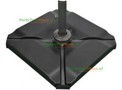 SORARA kunststof parasolvoet 4-delig VULBAAR - 80 kg