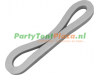 tentring / tent-elastiek rubber 12 cm