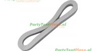 tentring / tent-elastiek rubber 12cm