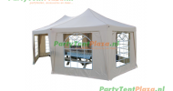 pagode 5x6,8 m polyester