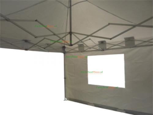 4 x 4 Easy Up Diamond - compact PVC (brandvertragend certificaat)