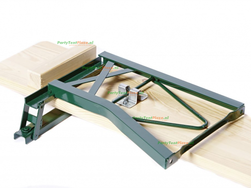 biertafelset 70 cm zware kwaliteit met rugleuning