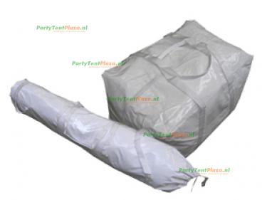 tassenset PVC voor polyester tenten
