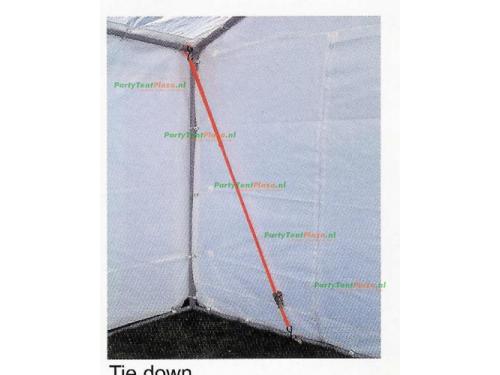 verankering voor gras/zand 4 stuks