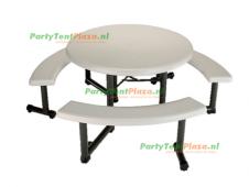 picnic tafel rond