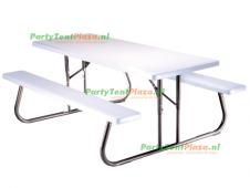 picnic tafel rechthoek