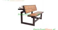 parkbank picnic set 2 in 1 (kantelbaar)