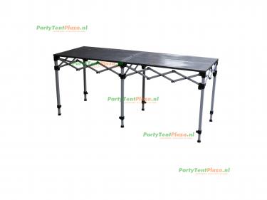 scharniertafel staal  190 x 70 cm