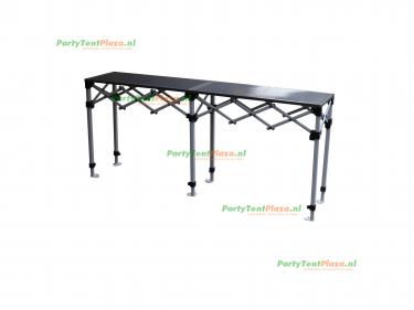 scharniertafel staal  190 x 40,5 cm