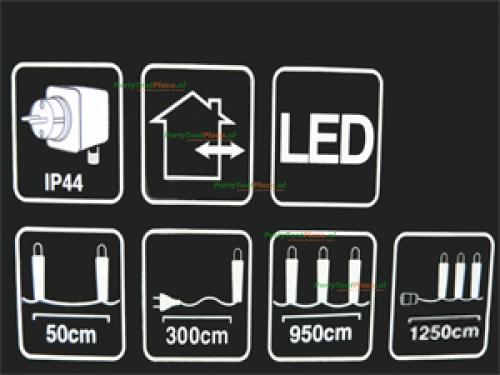 feestverlichting 20 lampen LED