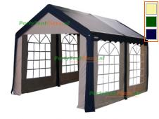 complete set dak en zijwanden partytent 4x3 polyester