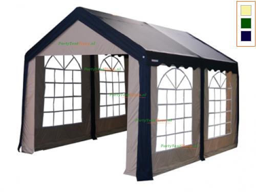 complete set dak en zijwanden partytent 4 x 3 polyester