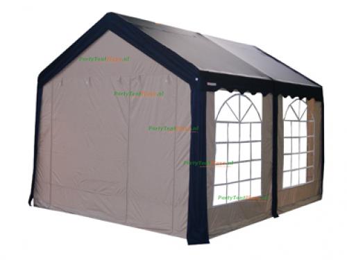 complete set dak en zijwanden partytent 4 x 4 polyester