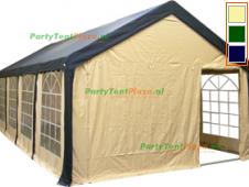 complete set dak en zijwanden partytent 8x4 polyester