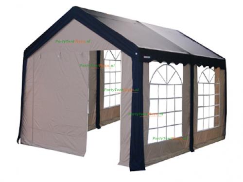 complete set dak en zijwanden partytent 4 x 5 polyester
