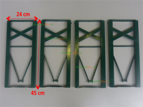 biertafelset 70 cm brouwerij onderstel