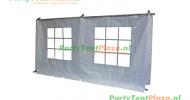 zijwand raamzijde 4,3 m PVC