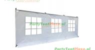 zijwand raamzijde 6,3 m PVC