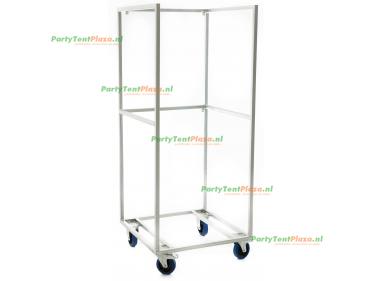 trolley t.b.v. koelkast met glasdeur