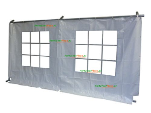 zijwand raamzijde 6 m PVC Business