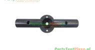 koppelstuk recht grondframe tbv partytent PVC Business