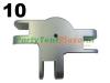koppeling midden staander Platinum (nr 10)