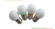 LED kogellampen