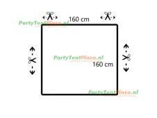 restpaneel PVC 160cmx160cm PVC wit