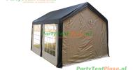 complete set dak en zijwanden partytent 4 x 3