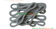 tentring / tent-elastiek rubber 13 cm