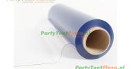 transparant PVC raamfolie (183 cm x 0,65 mm)