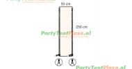 verandazeil Zip & Fit - passtuk 50cm off white