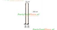 Andere klanten bekeken ook verandazeil Zip & Fit - passtuk 25 cm off white