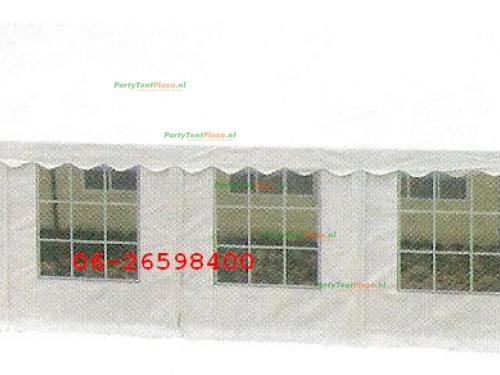 partytent 12 x 6 PVC *brandvertragend*