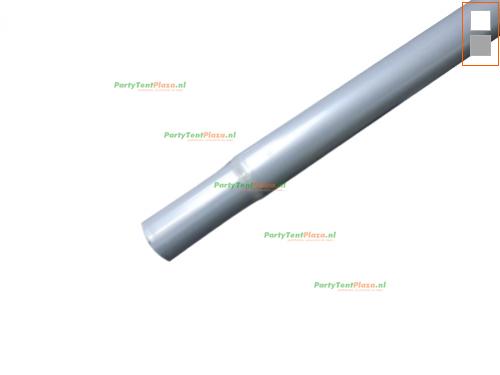 buis lengte: 2.64 m (43 mm)