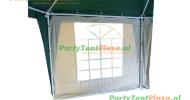 zijwand raamzijde 2,5m polyester