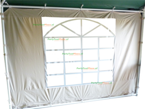 zijwand raamzijde polyester 2,5 m