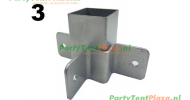 schuifkoppeling nokmast Platinum (nr 3)