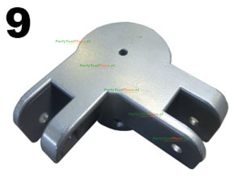 koppeling hoek staander Platinum (nr 9)