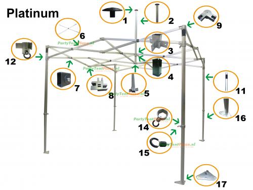 T-koppeling Platinum (nr 8)