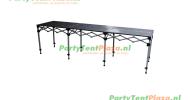 scharniertafel staal  286 x 70 cm