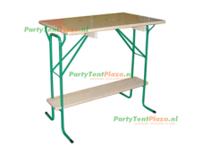 statafel hangtafel hout 110cm