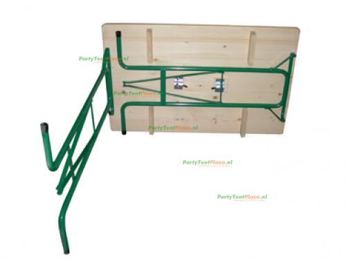 statafel hangtafel hout 110 cm