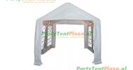 complete set dak en zijwanden partytent 4 x 3 PE