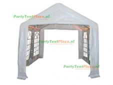 complete set dak en zijwanden partytent 4x3 PE